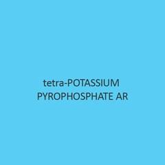 Tetra Potassium Pyrophosphate AR