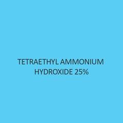 Tetraethyl Ammonium Hydroxide 25 percent