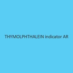 Thymolphthalein indicator AR