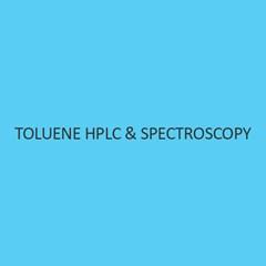Toluene HPLC & Spectroscopy
