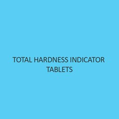 Total Hardness Indicator Tablets