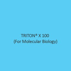 Triton X 100 (For Molecular Biology)