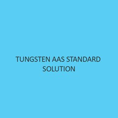 Tungsten AAS Standard Solution
