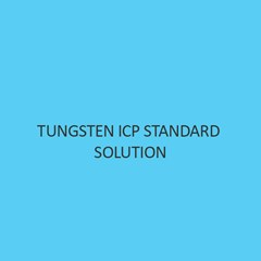 Tungsten ICP Standard Solution