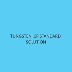 Tungsten ICP Standard Solution