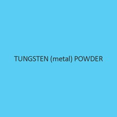 Tungsten (metal) Powder