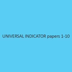 Universal Indicator papers 1 10