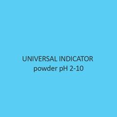 Universal Indicator powder pH 2 10