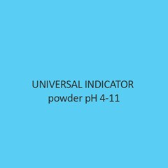 Universal Indicator powder pH 4 11