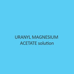 Uranyl Magnesium Acetate solution
