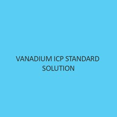 Vanadium ICP Standard Solution