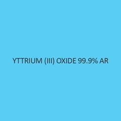 Yttrium (III) Oxide 99.9 percent AR