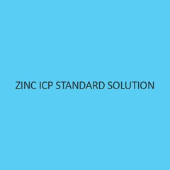 Zinc ICP Standard Solution 1000mg per L in Nitric Acid