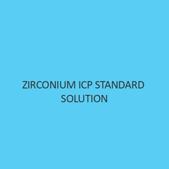 Zirconium Icp Standard Solution 1000Mg per L In Water